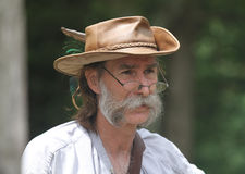 Renaissance Fair man in costume Stock Images