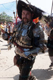 Renaissance Fair parade swordsman Royalty Free Stock Images