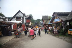 Renaissance Faire Royalty Free Stock Photography