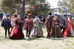 Renaissance Faire dance Stock Photo