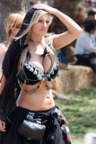 Renaissance Faire dancer Royalty Free Stock Photos
