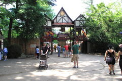 Renaissance Faire Gate Stock Photos