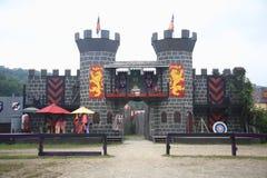 Renaissance Faire Joust Field Royalty Free Stock Image