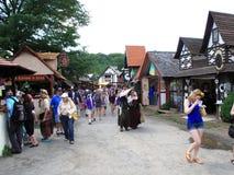 Renaissance Faire Stock Photo