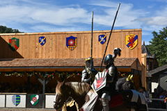 The 2016 Renaissance Faire in New York State Royalty Free Stock Photos