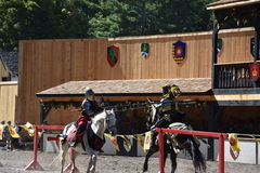 The 2016 Renaissance Faire in New York State Stock Photos