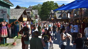 The 2016 Renaissance Faire in New York State Royalty Free Stock Photography