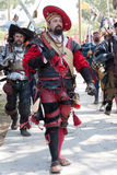 Renaissance Faire Prozession Stockbild