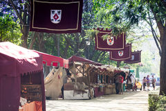 Renaissance faire in Spain Royalty Free Stock Photos