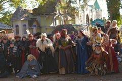 Renaissance-Festival Stockbild