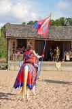 Renaissance Festival knight Stock Photos