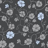 Renaissance Floral Seamless Pattern Royalty Free Stock Photography