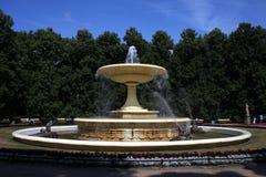 Renaissance fountain stock photo