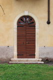 Renaissance front door Royalty Free Stock Images