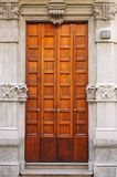 Renaissance front door Stock Photo