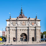 Renaissance Gate, Brama Wyzynna in Gdansk, Poland Royalty Free Stock Photos