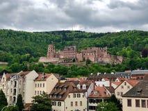 Renaissance Heidelberg castle in Germany stock photos