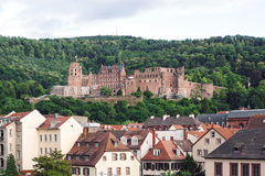 Renaissance Heidelberg castle in Germany royalty free stock photography