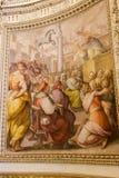 Renaissance het Schilderen bij het Museum van Vatikaan stock fotografie
