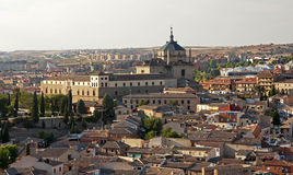 Renaissance Hospital of Tavera in Toledo Royalty Free Stock Images