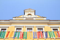 Renaissance house in Jicin Royalty Free Stock Photos