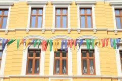 Renaissance house in Jicin Stock Photos