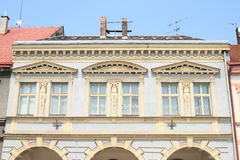 Renaissance house in Jicin Royalty Free Stock Photography