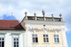 Renaissance house in Jindrichuv Hradec Royalty Free Stock Photos