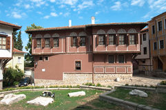 Renaissance House Of Old Plovdiv, Bulgaria Royalty Free Stock Photos