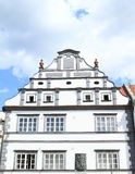 Renaissance house in Pisek Stock Photos