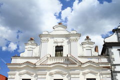 Renaissance house in Pisek Royalty Free Stock Photography