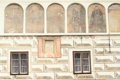 Renaissance house Stock Photo
