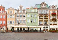 Renaissance houses , Poznan, Poland Stock Photography