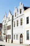 Renaissance houses, Slavonice. Renaissance houses in Slavonice, Czech Republic Royalty Free Stock Images