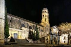 Renaissance-Kathedrale der Geburt Christi unserer Dame in Baeza, Jaen stockfoto