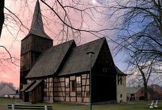 Renaissance-Kirche bei Klepsk Stockbilder