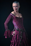 Renaissance-Kleid Stockfotografie