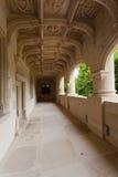 Renaissance loggia. Of Dampierre-sur-Boutonne castle in charente maritime , France stock images