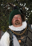 Renaissance Man 3. Renaissance Man Dressed up in full Wardrobe at Festival Faire Royalty Free Stock Photography