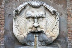 Renaissance marble fountain Royalty Free Stock Photos