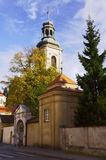 Renaissance monastery and church Royalty Free Stock Photo