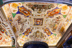 Renaissance Painting at Vatican Museum Royalty Free Stock Photography