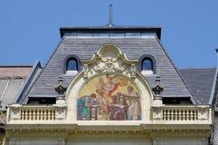 Renaissance palace stock photography