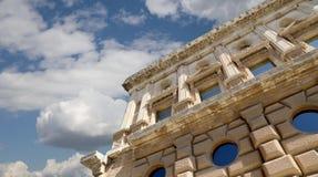 Renaissance palace of Carlos V, Alhambra, Granada, Spain Royalty Free Stock Photo