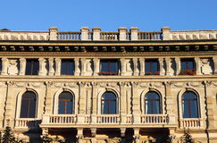 Renaissance palace Stock Photography