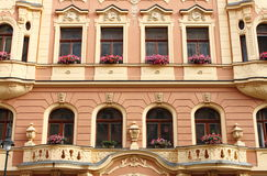 Renaissance palace in Prague Stock Photography