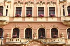 Renaissance palace in Prague stock photography