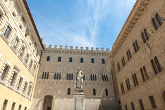 Renaissance Palace in Siena, Italy Royalty Free Stock Photo