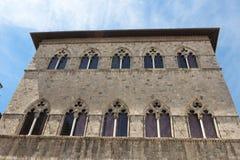 Renaissance Palace in Siena, Italy Royalty Free Stock Image