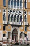 Renaissance palace in Venice Stock Photos